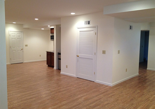 basement remodeling general contractor mercer county nj